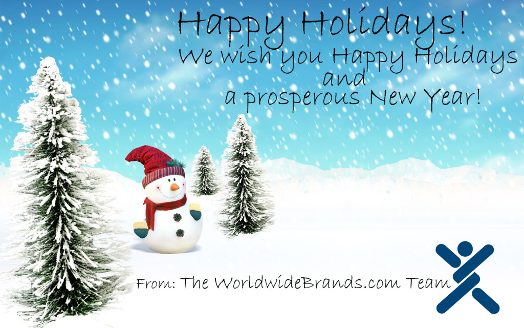 happy holidays 2014 worldwidebrands.com