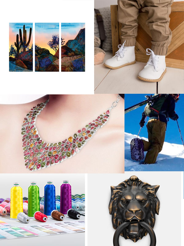 image of some of the wholesale products and dropship products offered