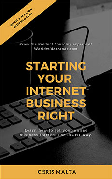 Starting your Internet Business Right | Free eBook