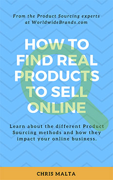 How to Find Real Products to Sell Online | Free eBook
