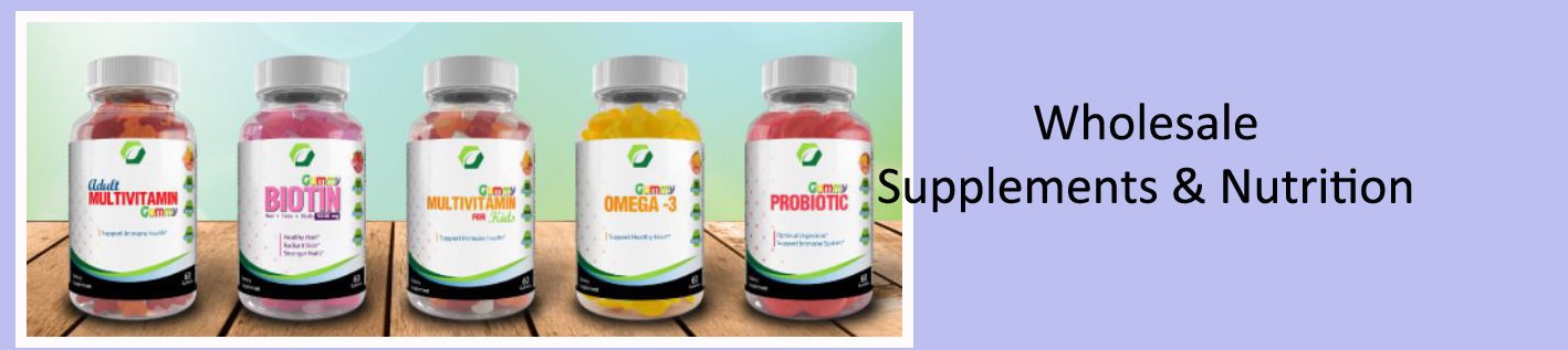 Wholesale Supplements and Nutritional Products to Sell Online