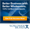 Start Wholesale Driopshipping with Worldwide Brands Today!