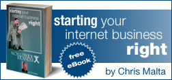Starting Your Internet Business Right, Free eBook