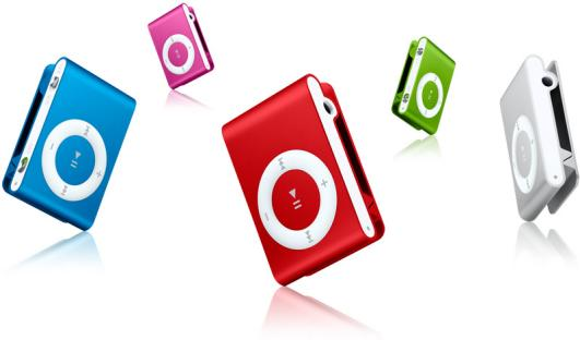 1 GB and 2 GB iPod Shuffles wholesale